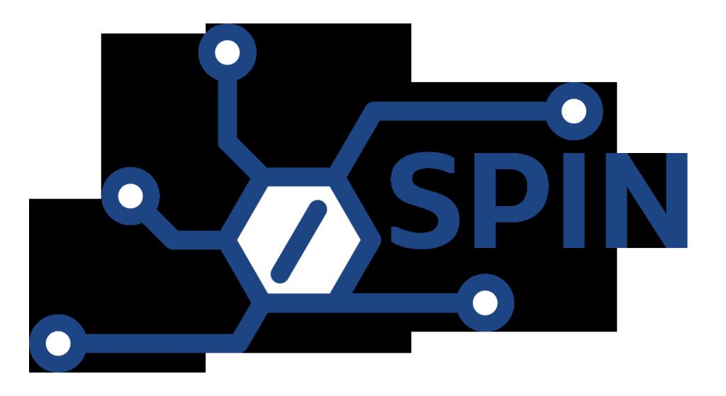 Spin logo-PMS 288